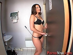Beurette anal fuck on the workplace !! French amateur