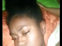 Ghana Uni KNUST level 100 girl hot fuck with level 400 boyfriend Part 2