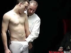 Punidhed mormon sucked