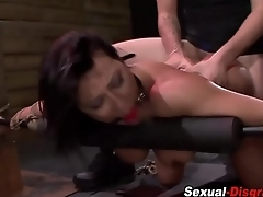 Fetish slaves cunt rammed