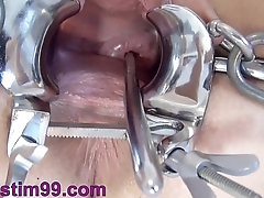 Extreme Cervix Play and Peehole Play requested