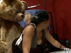 Dancing bear readily obtainable office party