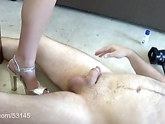 Shoe and Foot Dick Trample HD