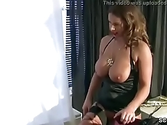 German MILF with Monster Natural Tits Inveigle to Fuck on Work