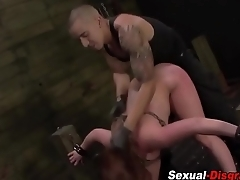 Fetish slut gets bdsm sex