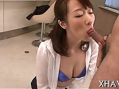 Oriental follower groupie pussy gets hard to believe