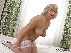 Awfully hot mature fuck hard