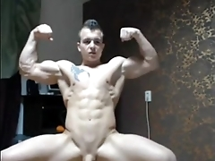 down in the mouth musclehunk jerking elsewhere