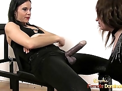 Cross Dresser Dominated By The X-rated Lady G