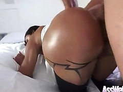 Kinky Hot Girl (jewels jade) With Big Butt Get Oiled Plus Anal Nailed video-11