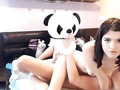 Live sex with panda