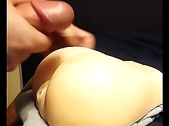 Having fun with my sex toy