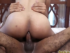 African second-rate bareback cockriding after bj