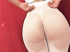 Burly Ass Teen! Give someone a thrashing Ass on Internet! Penny-pinching Leggings! Cameltoe