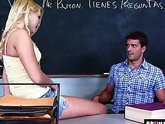 BrokenTeens - Vanessa Cage Has a Crush on the Spanish Teacher