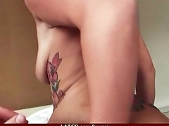 Babe Fucks in one's own view Sex Tape 5