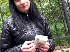 Public Pickups - Czech Sexy Slut Suck Cock Surrounding Public For Money 28