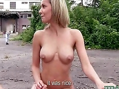PublicPickups - Low-spirited Czech Girls In Shameless Public Sex Scenes 08