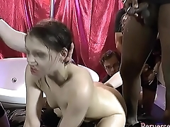Cum soaked ho maudlin over