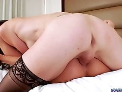 Roxy lick and eat Mandy Mitchells pussy