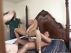 Swinger MILF Tries Some New Dick