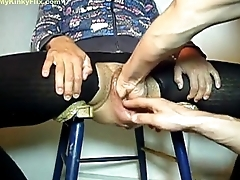 MYKINKYFLIX.COM - Old Granny Gets Fist Fucked In Put the show on the road Cunt
