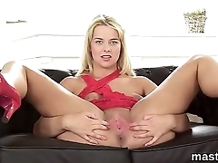 Nasty czech sweetie spreads her flavourful vagina in the limit