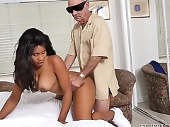 Nurse Takes To one's liking Care Of HIs Cock