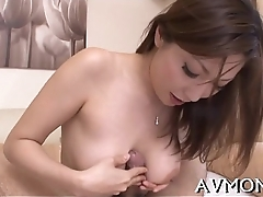 Hung tit mother i'_d like to fuck rides ramrod