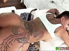 anal with tattooed chick