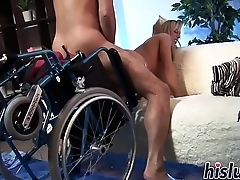 Two Whore Nurses Fuck &amp_ Drag inflate An obstacle Containerize Back Back Health