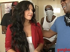 Danica Dillon dped away from obese black boners