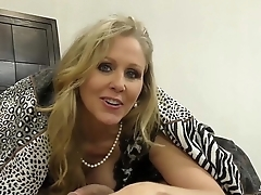 Julia Ann is Horny &amp_ Gives Footjob!